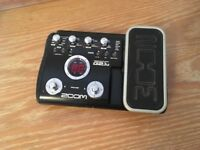 Zoom G2.1u Effects Pedal / recording device
