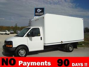 2011 Chevrolet Express DRW 14 Unicell Box