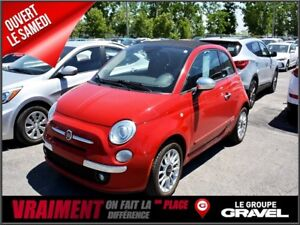 2012 Fiat 500C LOUNGE - CUIR - MAGS -