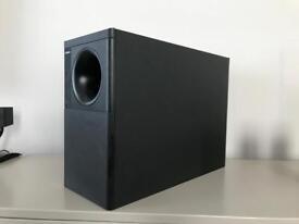 BOSE Acoustimass Bass box & Cubes