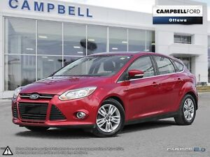 2012 Ford Focus SEL LEATHER-NAV-POWER SEAT-AUTO