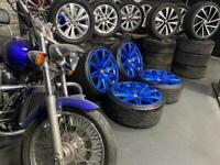 "21"" inch Bentley alloys wheels 5x120 bmw Vw transporter rolls Royce 5 series t5 t6 x5 Range Rover"