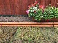 16x Garden edging 4inch high 1m long brand new