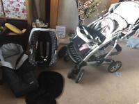 Graco complete travel system