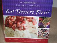 Cook Book Desserts First