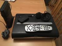 Sky HD box & extras