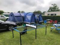 Hi gear kalahari 10 tent and porch