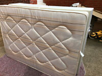 Orthopedic 4ft 6in Double Divan Bed - good condition - used as occasional/spare bed