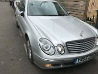 05 MERCEDES E220 CDI AUTO THIS CARS FOR PARTS FOR ANY PARTS CALL ON