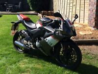50CC DERBI GPR 50. ONLY 7,491 MILEAGE, EXCELLENT CONDITION! MUST BE SEEN!