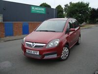 VAUXHALL ZAFIRA LIFE 1.9 CDTi DIESEL 6 SPEED MANUAL - 7 SEATER - LONG MOT -FREE DELIVERY-P/X WELCOME