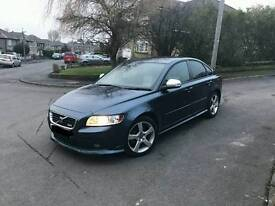2011 (60) VOLVO S40 R-DESIGN D2 BLUE VERY LOW MILES 2 PREV OWNERS £4995 ONO/PX WELCOME
