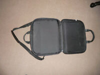 Large Dell vinyl laptop shoulder bag