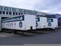 45 ft 3 axle box furniture trailers.