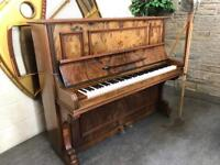 1895 Paul Scharff, Berlin Overstrung Upright Piano - CAN DELIVER