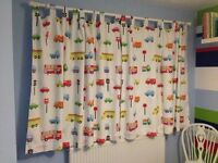 2 pairs of children's transport curtains
