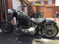 Harley Davidson 1340 evo Chop 1993 imported from USA in 1999 plus 2 UK owners