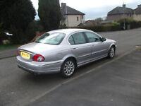 jaguar x type 2495cc auto 2002 spares or repairs £300