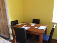 Good deal dinning room table and 4 chairs