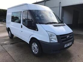 Ford Transit T350 2.4 tdci 100ps, CREW VAN, Direct from norwich council, Only 88k, Must be seen!