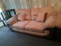 2X 3 Seater DFS sofas in very condition