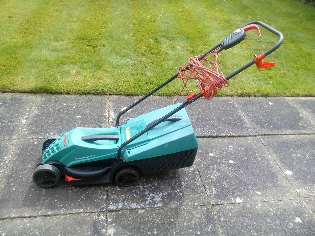 Bosch Rotak 32 Lawn Mower Electric Powers Up But Blade Not