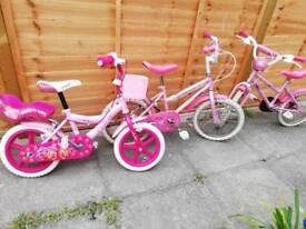 3 girls bike