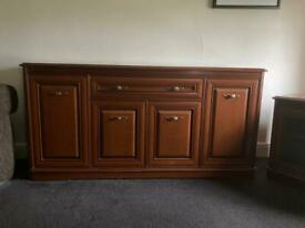 Caxton heavy tv stand - sideboard & table