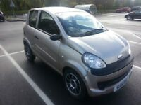 Microcar Mgo, low milage can be driven on motorbike licence