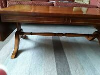 YEW DROP LEAF COFFEE TABLE