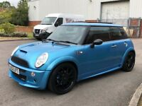 Mini Cooper s supercharged jcw bodykit jcw wheels panroof top spec swaps or px