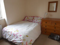 Double room in two bed flat city centre