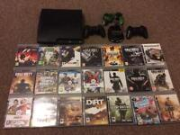 PS3 120g with 21 games