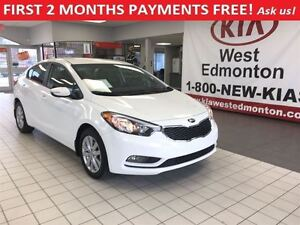 2014 Kia Forte LX+ Sdn FWD 1,8L, FIRST 2 MONTHS PAYMENTS FREE!!