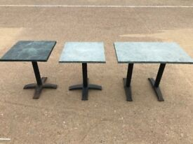 Green Bistro Tables