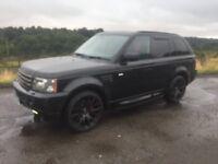 *** Range Rover sport 3.6tdv8 2007 swap px car van ****