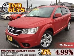 2012 Dodge Journey CREW 5PASS FWD 3.6L V6 ALLOYS