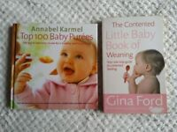 Weaning books x 2