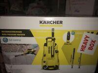 New Karcher K4 full control pressure washer