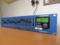 Samson D2500 Professional Dual 31 Channel Digital Equaliser - Full Working Order