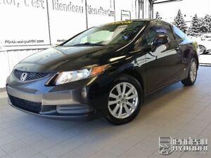 2012 Honda Civic EX + TOIT + BLUETOOTH
