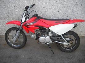 2005 honda crf 70 4 stroke good condition running well £625 ono