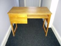 Writing desk (retro school desk)