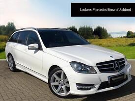 Mercedes-Benz C Class C250 CDI AMG SPORT EDITION PREMIUM PLUS (white) 2014-03-31