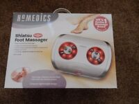 Homedics Shiatsu Foot Massager with Infrared Heat - 2 settings - Excellent condition as barely used