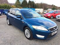2008 FORD MONDEO ZETEC TDCI 140BHP//MOT UNTIL FEBRUARY 2018//NEW CLUTCH FITTED//SERVICE HISTORY