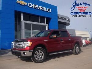 2013 Ford F-150 XLT XTR CREW 4X4 V8 POWER SEAT!!!