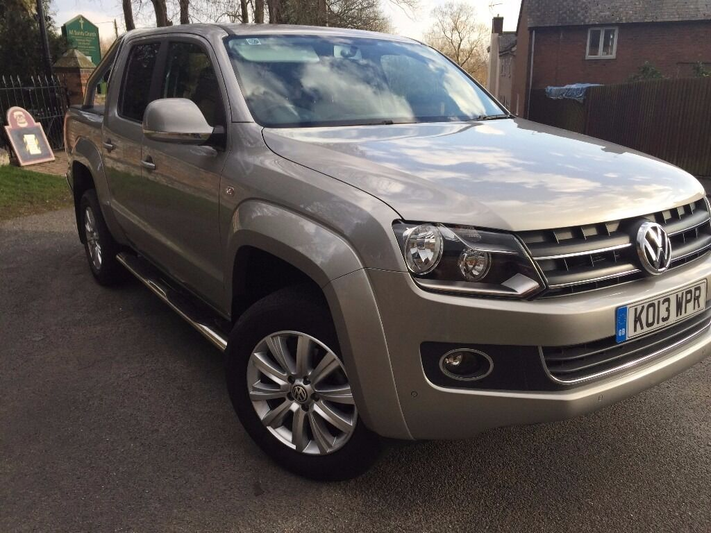 volkswagen amarok auto 4x4 highline tdi 178bhp as new. Black Bedroom Furniture Sets. Home Design Ideas