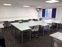 City Centre Desk Space to Rent - inc Meeting Room & Break-Out Area