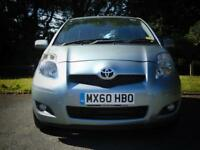 TOYOTA YARIS 1.0 TR VVT-I 5d **FULL TOYOTA SERVICE HISTORY** (silver) 2010
